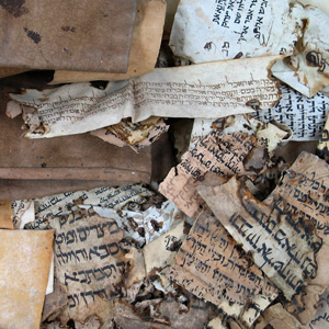 Unsorted Genizah Collection manuscripts